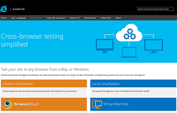 Cross-browser testing simplified | Testing made easier in Internet Explorer
